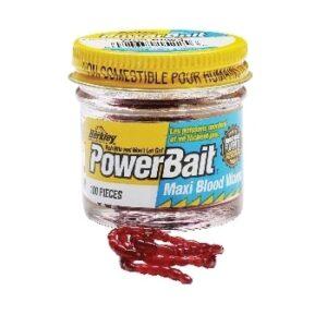 Berkley Powerbait Maxi Blood Worms-0