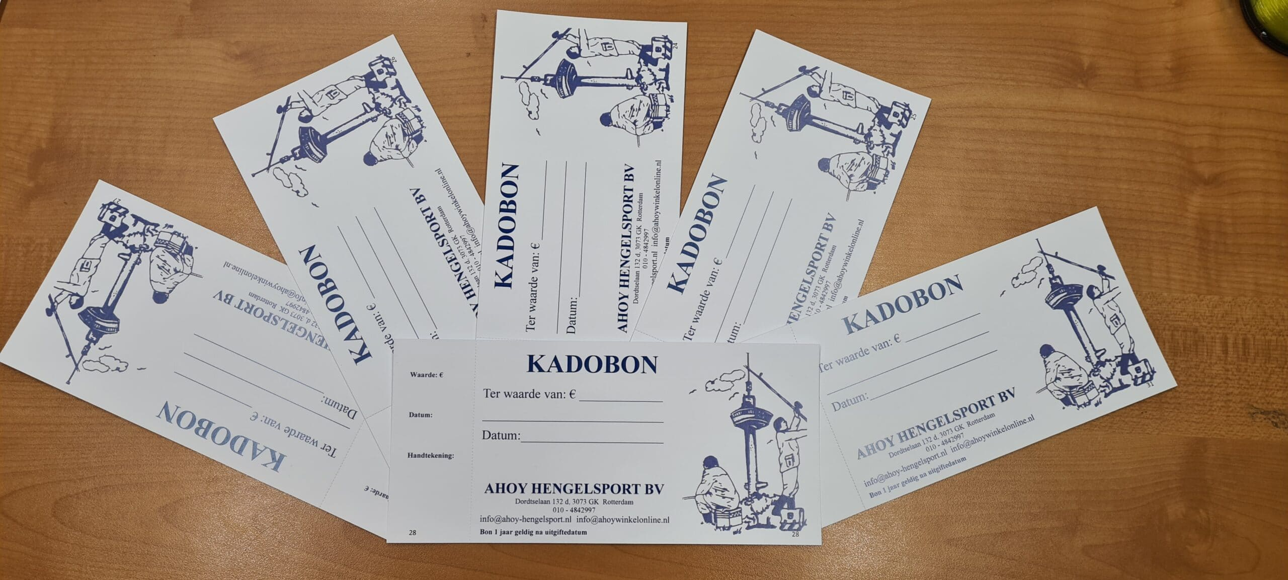 Ahoy Kadobonnen