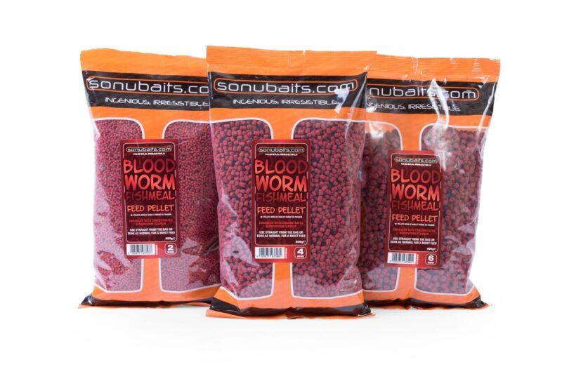 Sonubaits Feed Pellets - Bloodworm