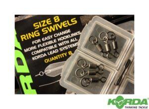 Korda Size 8 Ring Swivel-0