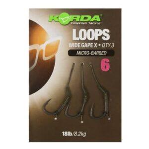 Korda Loops Wide Gape X Hook