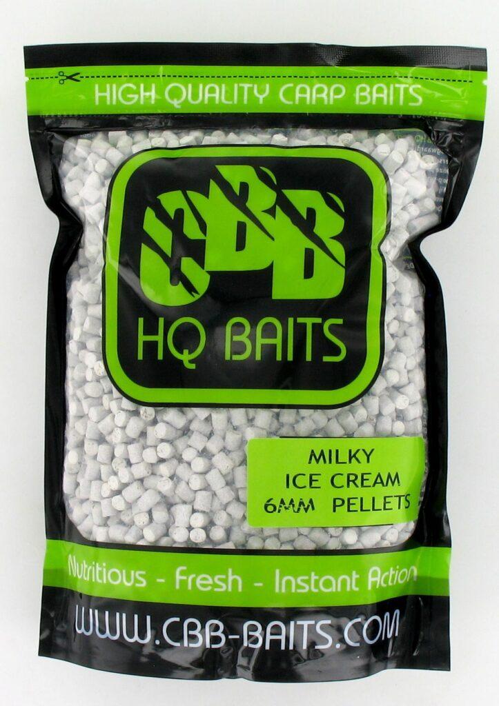 CBB HQ Baits Pellets Milky Ice Cream