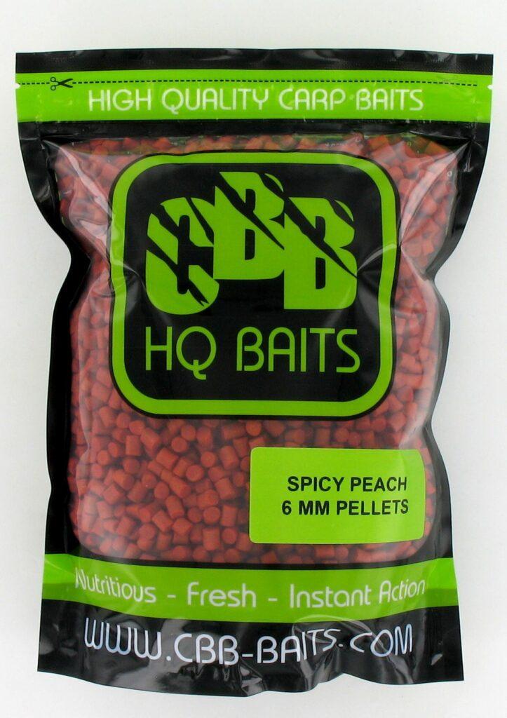 CBB HQ Baits Pellets Spicy Peach