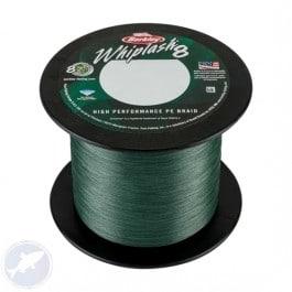 Berkley Whiplash 8 Green - Per 300 meter van de bulk spoel