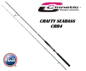 Cinnetic Crafty Seabass CRB4-0