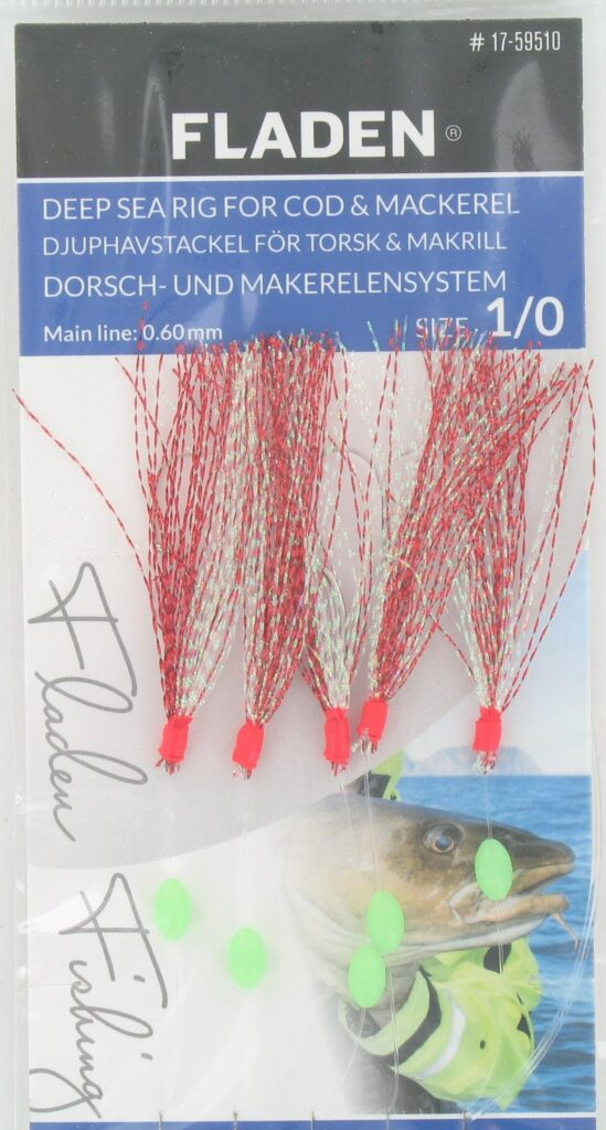 Fladen Deep Sea Rig For Cod&Mackerel