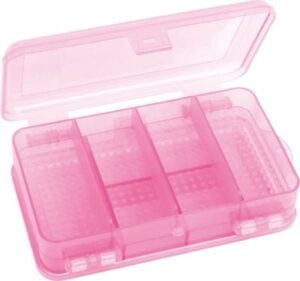 Fladen Tackle Box Pink Dubbel