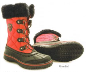 Move Mountains Red Arctic Dice Women's