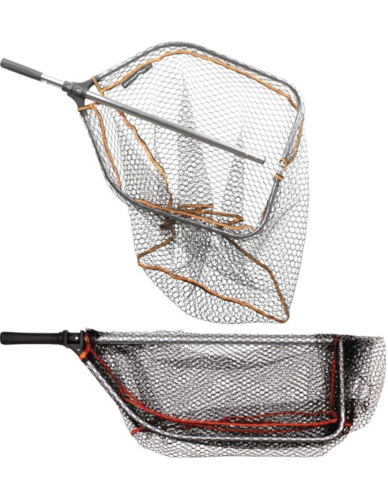 Savage Gear Pro Folding Rubber Mesh Landing Net L