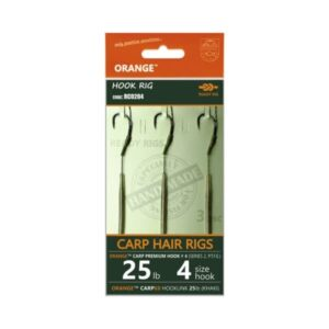 Orange Carp Hair Rigs Beaky Rig (series 2)
