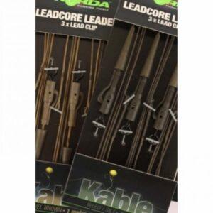 Korda Leadcore Leaders Hybrid Lead Clip 3 stuks