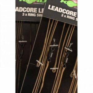 Korda Leadcore Leaders Ring Swivel 3 Stuks